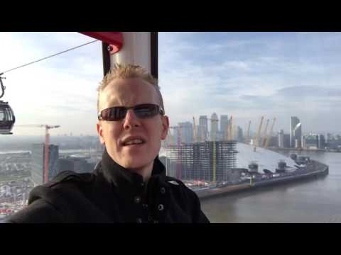 London 2017 Volunteer Selection Centre & Emirates Air Line Cable Car over O2 Arena
