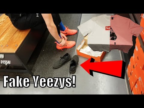 FEEZYS EXPOSED + Never before Seen Supreme x Palace collab!