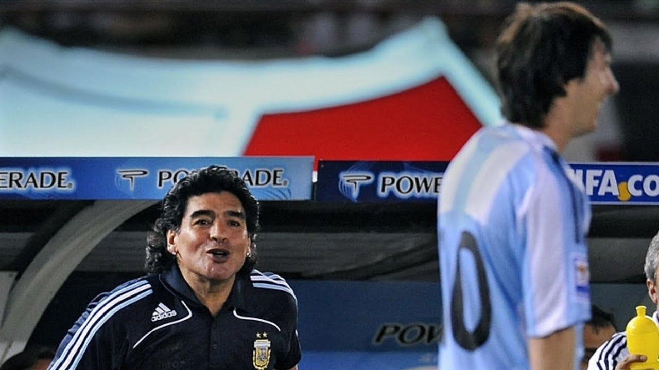 The First Time Lionel Messi Wore The Argentina Number 10 ► Made Maradona Proud