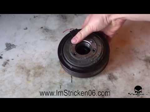 NISSAN: Replacing A/C Pulley & Clutch