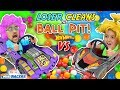 LOSER CLEANS BALL PIT BALLS HOTWHEELS RACE FGTEEV Father Vs Son OSMO MIND RACERS IPad App Game