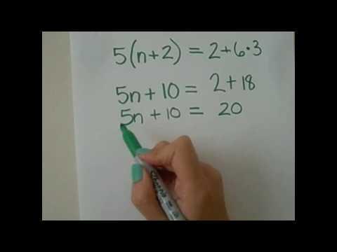 6th Grade Math: Distributive Property
