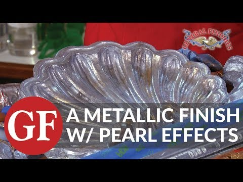 How to Create A Metallic Finish Wth Pearl Effects