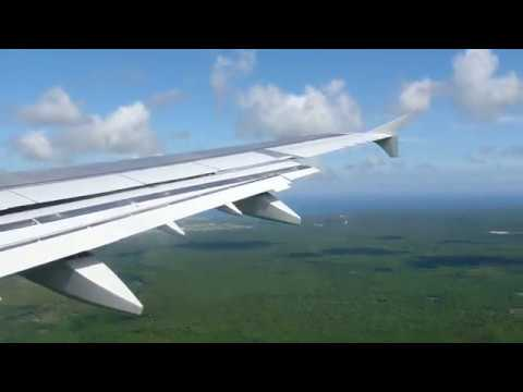 American Airlines Airbus A321-211 Landing in Punta Cana (PUJ/MDPC)