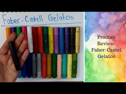 FABER CASTELL GELATOS - Review