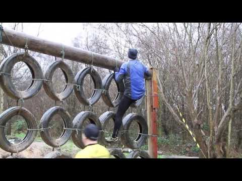 How to climb a tyre wall safely