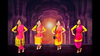 Kuchipudi Thillana Hindolam. Indian Classical Dance.