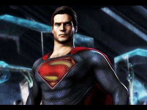 Injustice Gods Among Us - Men of Steel Superman NEW! Dlc Costume
