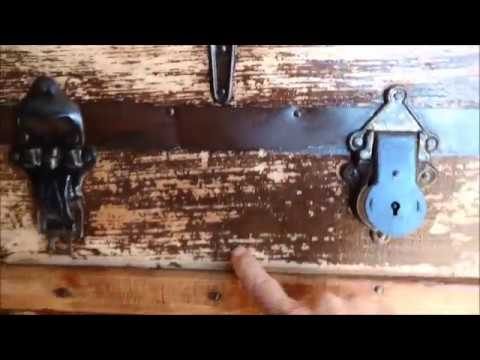 Antique Trunk Project Update 1