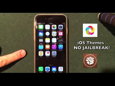 Install Jailbreak Apps Without Jailbreaking iOS 10.2: Themes!
