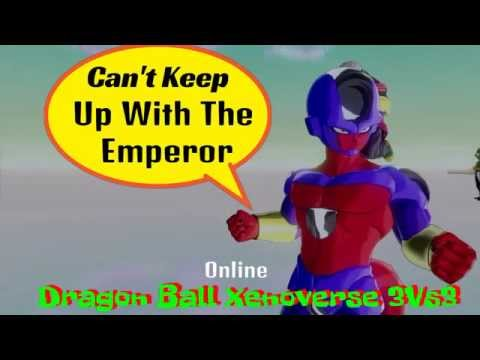 Emperor Wintebow Put The Beat Down In Dragon Ball Xenoverse Online
