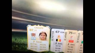 CRESPO IN A PACK!!!!!