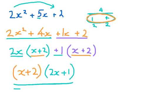 How to Factorise a Quadratic Part 2/2 (big coefficients)