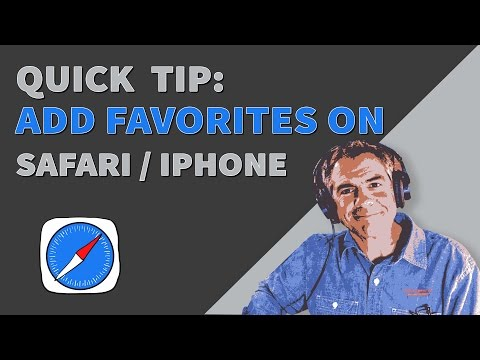 Quick Tip: How To Add Favorites (Shortcuts) in Safari on iOS Devices