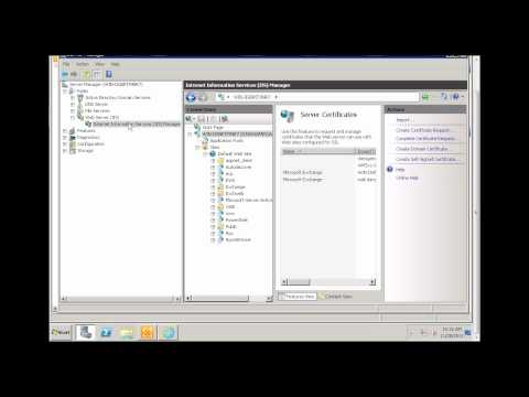 How to configure Outlook Anywhere in Exchange 2010 - Part 1