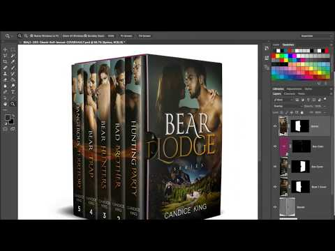 Make 3D Boxed Book Sets in Photoshop - PSD Mockups