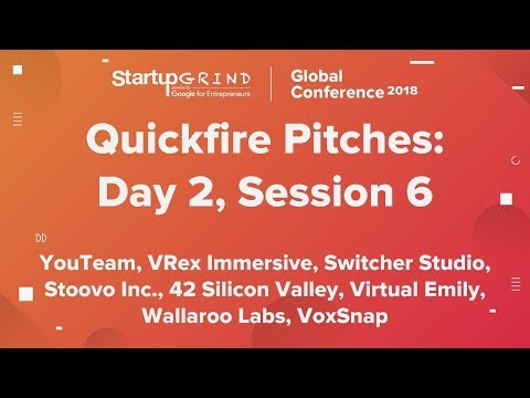 Quickfire Pitches | Day 2, Session 6
