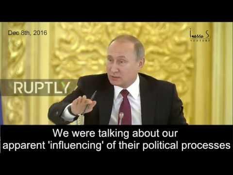 Putin laughs at US intel -