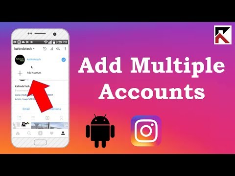 How To Add Multiple Instagram Accounts To One Phone Android