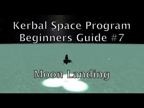 Kerbal Space Program - Tutorial For Beginners - Part 7 - First Moon Landing