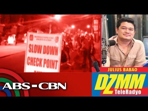 DZMM TeleRadyo: Checkpoints inilatag sa QC kasabay ng barangay election period