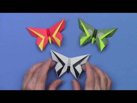 Piccolo Butterfly: Origami Butterfly for Piccoloist Carl David Hall, Atlanta Symphony