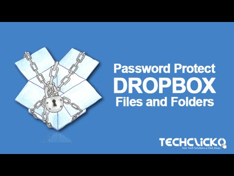 How to Password Protect Dropbox Links, Files and Folders?