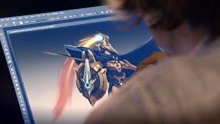 Reimaginando Pantheon, a Lança Indestrutível - Bastidores | League of Legends