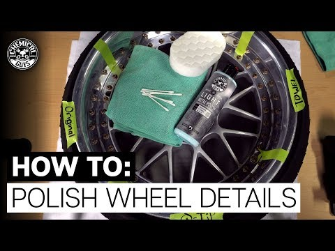 How to: Polish Hard to Reach Areas on Wheels! - Chemical Guys