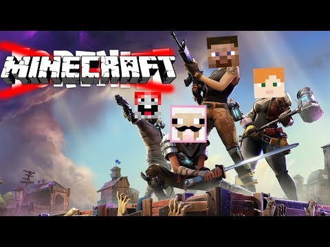 IF FORTNITE WAS IN MINECRAFT