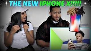 """Lenarr Young """"The iPhone X"""" REACTION!!!!"""
