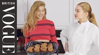 Gigi on Gigi: Baking Yorkshire Pudding with Gigi Hadid | X on X | Episode 2 | British Vogue