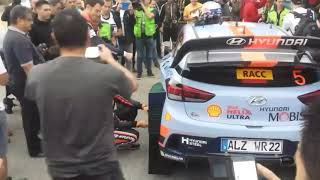Rally Racc 2017 1st day HIGHLIGTHS (SHAKEDOWN SALOU) BEST SOUND and HIGH SPEED.