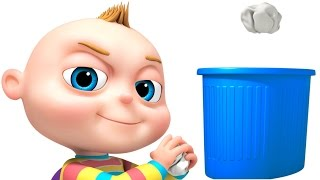TooToo Boy Dustbin Episode   Funny Cartoon Animation For Kids   Children's Comedy Show