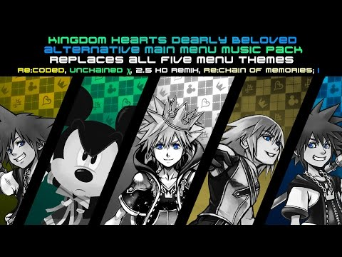 KINGDOM HEARTS OST - Dearly Beloved - Alternative Main Menu Music Pack - Left 4 Dead 2 Menu Music Mo