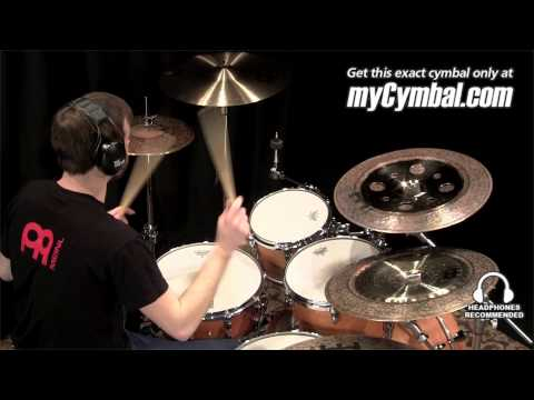 Meinl Classics Custom/Dark Cymbal Stack - Played by Pete Towle (CC12TRS-B/B18DACH-1031413S)