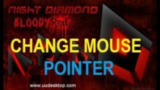 How to change mouse poniters on windows  (2018)