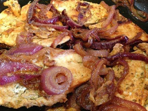 Pollo Encebollado (Puerto Rican Chicken & Sautéed Onions) Recipe - EcoRico