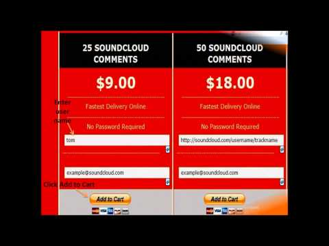 How to Buy SoundCloud Comments to Get Popularity?