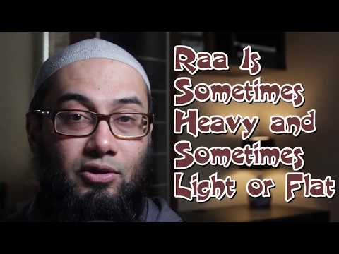 Juz Amma |  Lesson 5: The Letter Raa Part 1 | Surah Nasr | Free Courses | Tajweed Rules Of The Quran