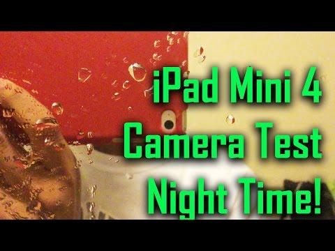 iPad Mini 4 Camera Test (Night Time)