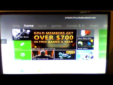 NEW XBOX 360 ACCOUNT GIVEAWAY #2 EMAIL AND PASSWORD ON KIK