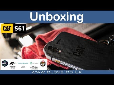 Cat S61 Unboxing