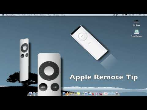 Using multiple Mac's with the Apple Remote Tip