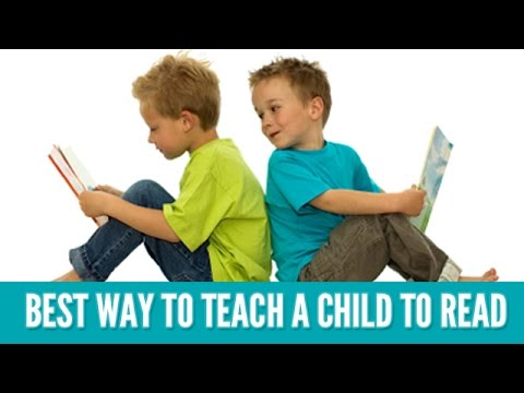 Best Way To Teach Kids To Read - How To Teach Children To Read - Children Learning To Read