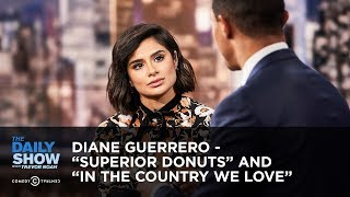 "Diane Guerrero - ""Superior Donuts"" and ""In the Country We Love"" 