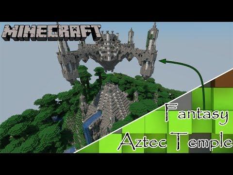 Fantasy Aztec Temple Build