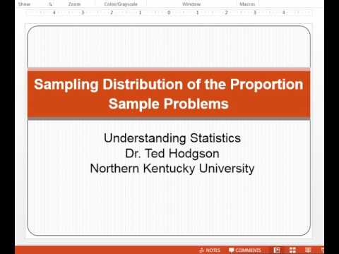 Sampling Distribution of the Proportion Intro