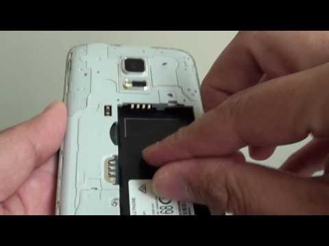 Samsung Galaxy S5 Mini: How to Insert / Remove Micro SD Card