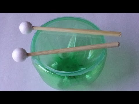 Recycling Activities for Kids: How to Make aTimpani Drum-Easy Plastic Bottles Crafts